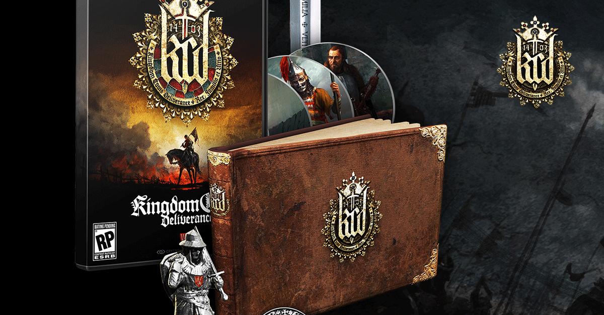 limited edition pc kingdom come deliverance