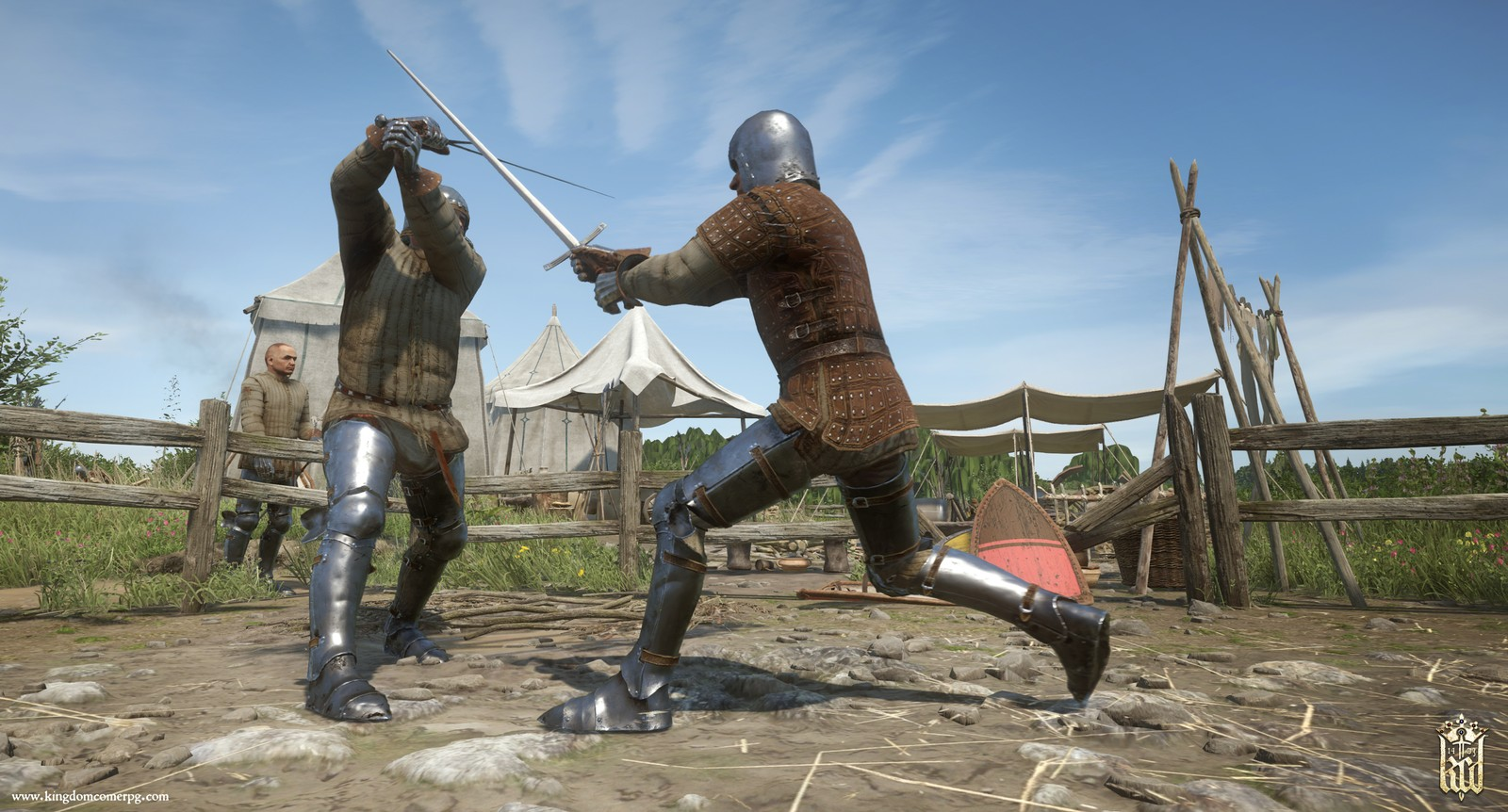 kingdom come deliverance melee combat simulation